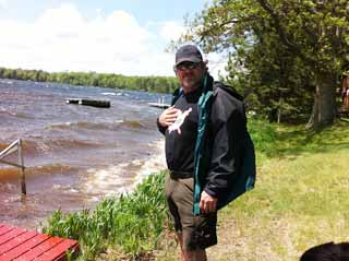 Chris, Squirrel Lake, WI, 48 mph wind testimonial