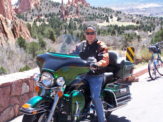 Fred rides Harley 75 mph 40+ mph gusts testimonial