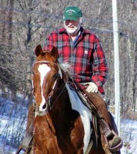 Rich, Summit, NY, horseback riding without worry testimonial